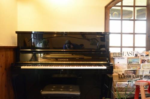 ピアノがやって来た。